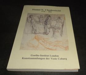 2手英文 Daniel N. Chadowiecki 1726-1801, Drawings Daniel Nikolaus 楚多威克 素描 小本 sfd42