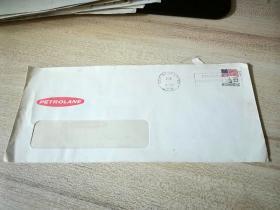 贴美国邮票1986年实寄封