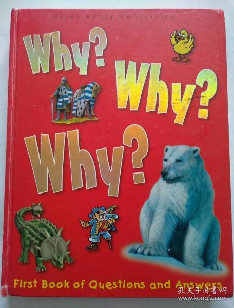 Why? Why? Why? First book of questions and answers