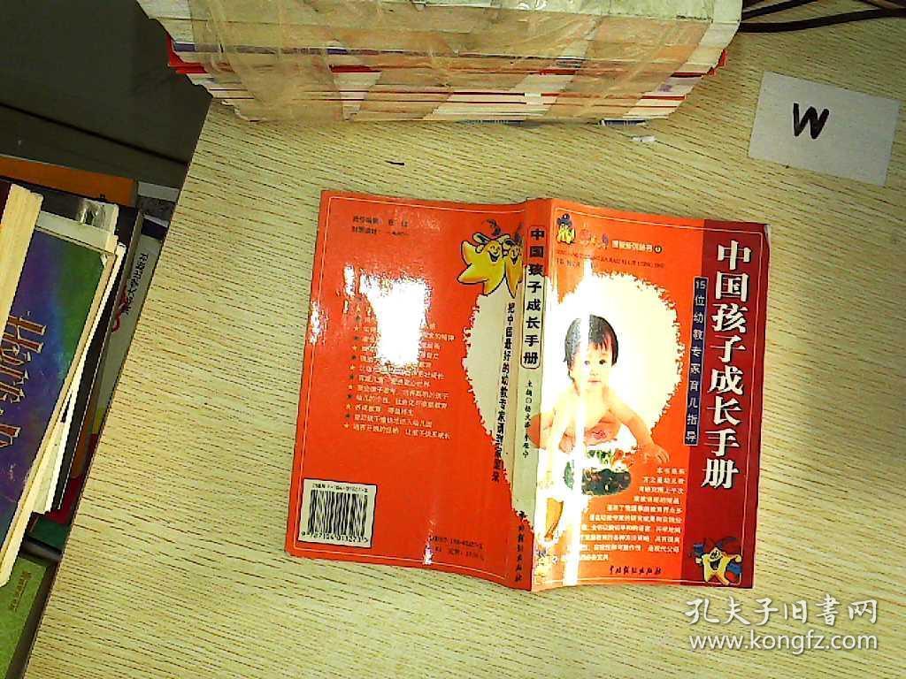 中国孩子成长手册:15位幼教专家育儿指导   .