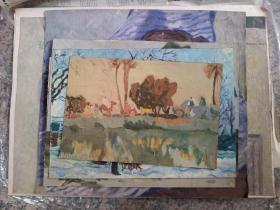 B3346 八十年代油画十二幅