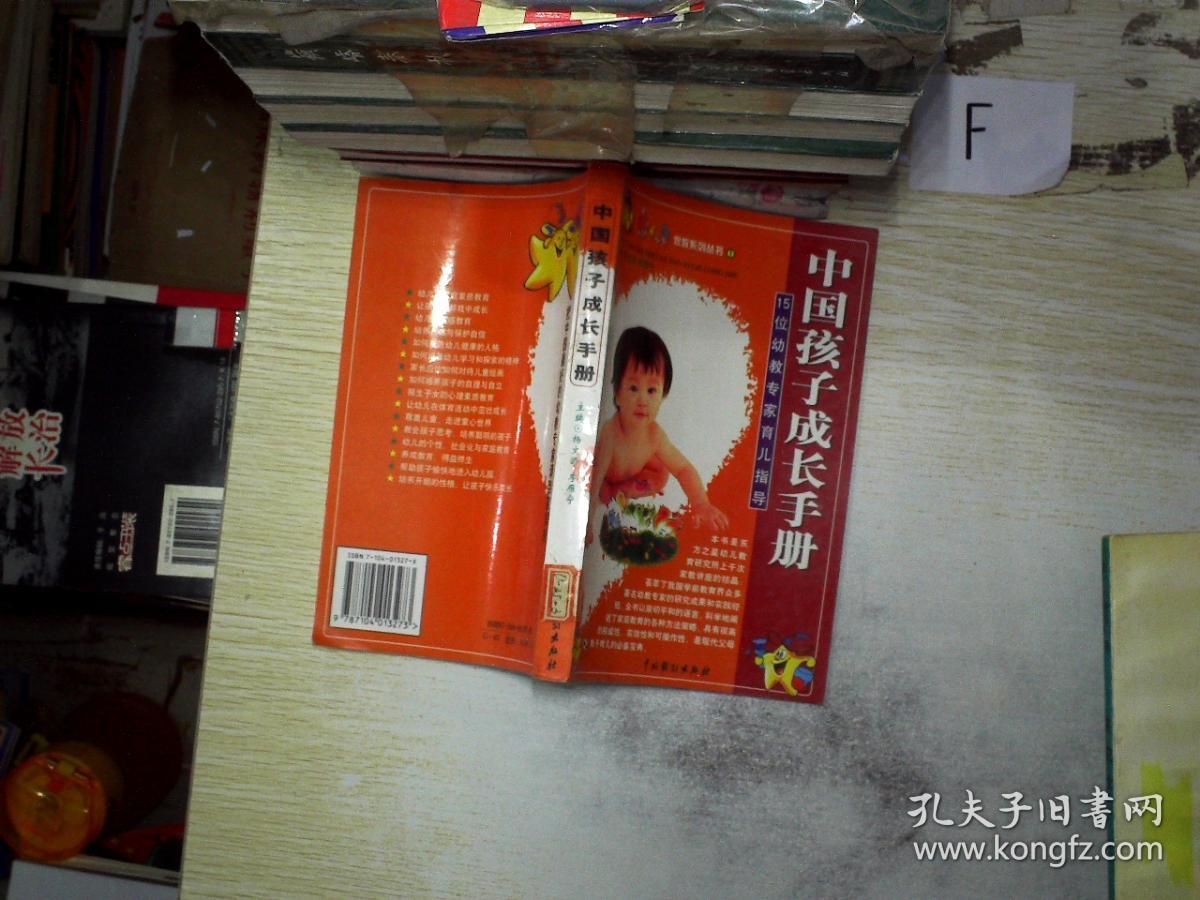中国孩子成长手册:15位幼教专家育儿指导——15位幼教专家育儿指导——家教系列丛书①.