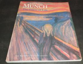 2手英文 Edvard Munch: The Frieze of Life 蒙克画册 sdb13