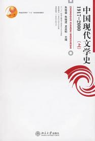 中国现代文学史(1917-2000) 朱栋霖 9787301112045