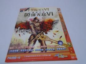 游戏光盘:魔法门之英雄无敌6(2张DVD)