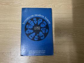 "Lectures on Modern History    阿克顿勋爵《近代史讲稿》英文原版,  代表作,(其名言""权力使人腐败,绝对的权力绝对使人腐败。""),1967年老版书"