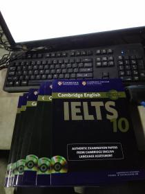 Cambridge English IELTS剑桥雅思考试全真试题(5.6.7.8.9.10)全是附两张光盘
