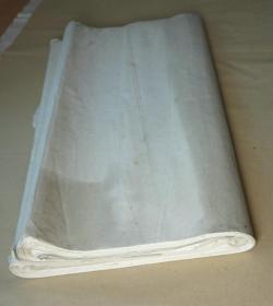 90年代精品老宣纸    棉料单宣  90张 (棉料生宣类,尺寸138*70.5cm)