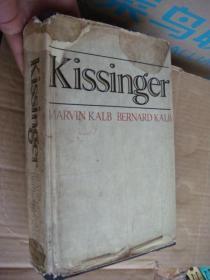Kissinger by Marvin Kalb and Bernard Kalb <基辛格> 英文原版 插图册 1974年 布面精装16开+书衣 厚重