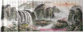 李馨(李金冬)山水小6尺
