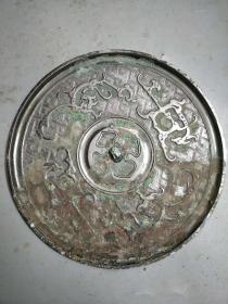 铜镜子,直径18公分的----------
