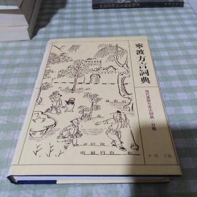 现代汉语方言大词典:宁波方言词典 精装