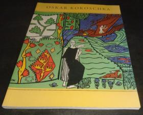 2手德文 Oskar Kokoschka frühe graphische Arbeiten 1906-1923 柯克西卡早期作品 sfa24