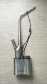 早期白铜水烟壶:满工、雕工精美、品相完好