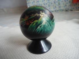 漆木烟灰缸