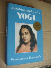 Autobiography of a Yogi  稀有 签名 原版插图本 小16开。 扉页上不仅有作者署名而且有整页的手写英文书信。品相近新
