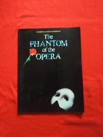 正版 The Phantom of the Opera歌劇魅影 歌曲與鋼琴伴奏譜(韋伯親著)內頁干凈無筆記