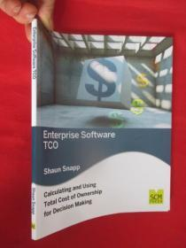 Enterprise Software Tco: Calculating and Using Total Cost of Ownership for Decision Making     (16开) 【详见图】