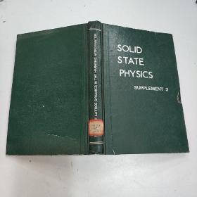 SOLID STATE PHYSICS -supplement  3