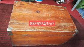 五六十年代的老樟木箱子,品相如图所示