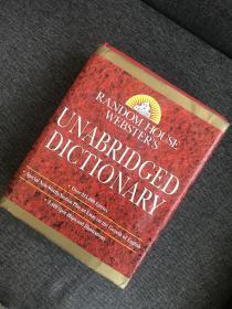 现货 Random House Websters Unabridged Dictionary: Indexed (Book Only Edition)