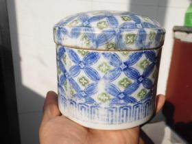 高丽瓷器 朝鲜瓷器 清末民国时期的高丽瓷器 高丽国瓷器 老碗 青花瓷器 盖缸