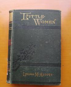 LITTLE WOMEN(精装1869年)内附精美插图
