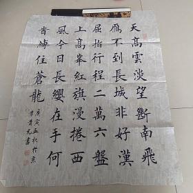 田英章弟子李贵元书法 保真 箱十三