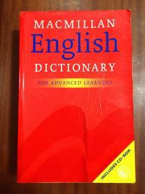 补图 进口原版麦克米伦高阶英语词典 英语版 无光盘Macmillan English Dictionary for Advanced Learners [Paperback]