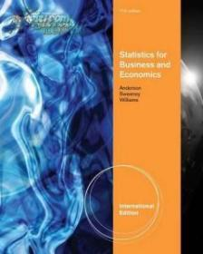 Statistics for Business and Economics(第11版)