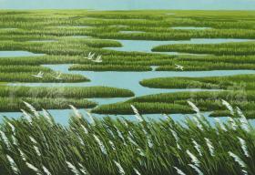 著名画家、黑龙江省美协会员 孟庆云 2011年亲笔签名 木版油印版画作品《绿之情》一幅(版号随机,作品编号为:51-80/100,作品直接得自于艺术家本人!) HXTX116666