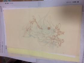 花笺纸 木刻水印