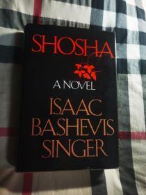 1978年诺贝尔文学奖得主艾萨克巴什维斯辛格(Issac Bashevis Singer,1904-1991) 初版小说《萨沙》亲笔签名