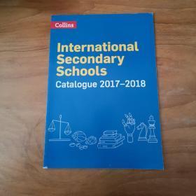 COLLINS INTERNATIONAL SECONDARY SCHOOLS CATALOGUE 20178-2018