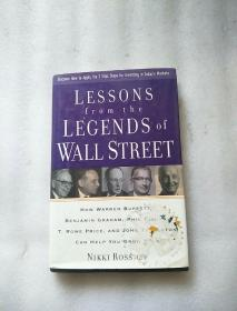 LESSONS FROM THE LEGENDS OF WALL STREET《华尔街巨头致富秘籍》