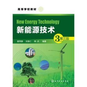 新能源技术 第三3版 翟秀静 化学工业出版社