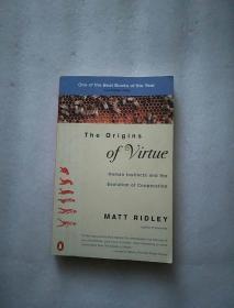 The Origins of Virtue: Human Instincts and the Evolution of Cooperation 英文原版 美德的起源:人类本能与协作的进化