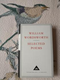 Selected Poems 华兹华斯诗集  William Wordsworth 华兹华斯 everymans library 人人文库 英文原版 布面精装 人人文库能够保证相同品相全网最低价;全网最全卖家,私藏近300种