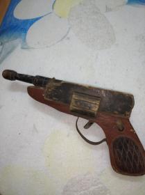 枪 玩具枪 木头玩具模型 木头枪 演出道具