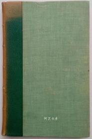 《克兰弗德》1940年版半皮装本女木刻家哈赛尔插图本英国女作家Elizabeth Gaskell小说
