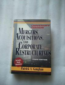 【Mergers, Acquisitions, and Corporate Restructurings 兼并,收购,企业重组】精装 16开