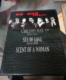 DVD阿雨.帕西诺的环球黄金时代6碟装