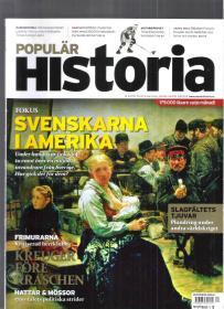 原版瑞典语历史杂志 Populär Historia 2010年4月(图文并茂)