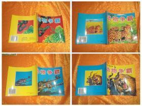 动物大战故事:动物争霸(1、2、3、4)全四册合售  //  发往江浙沪皖满一百元包快递