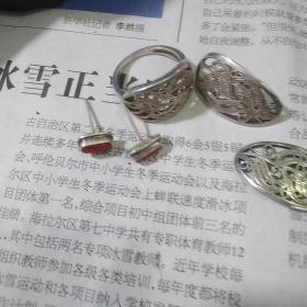小银器,六件,保真正品,售出不退。