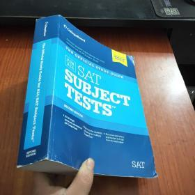 The Official Study Guide for All SAT Subject Tests【附2张光盘】