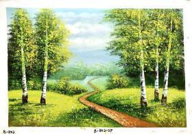 风景油画作品  60 X 90CM  60X90-802
