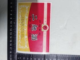 八八年四川泸州老窖二曲酒酒标