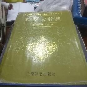 检察大辞典