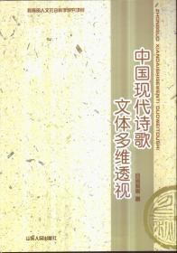中国现代诗歌文体多维透视